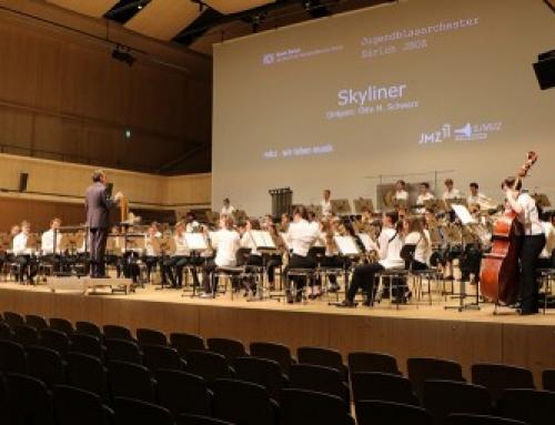 Gastdirigent beim Jugendblasorchester Zürich JBOZ