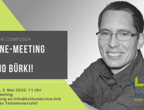 Online-Meeting mit Mario Bürki!