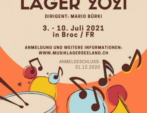 Gastdirigent beim Musiklager Seeland 2021